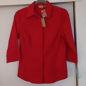 Salsa Red long sleeve shirt, bought at Nordstrom